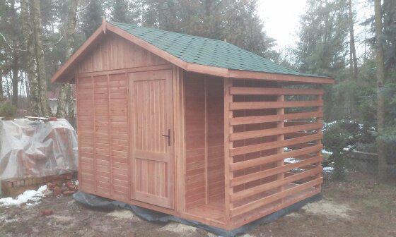 domek drewniany 1