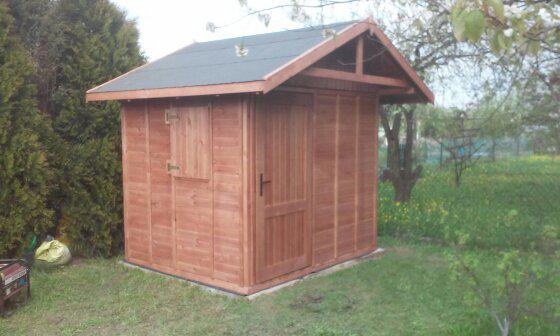 domek drewniany 2