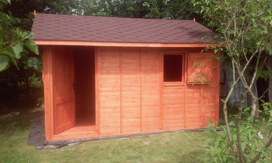 Domek drewniany wzór nr 3
