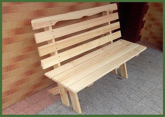 ławka drewniana Kriswood