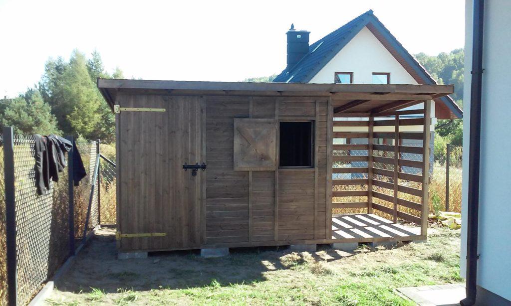 domek drewniany do ogrodu