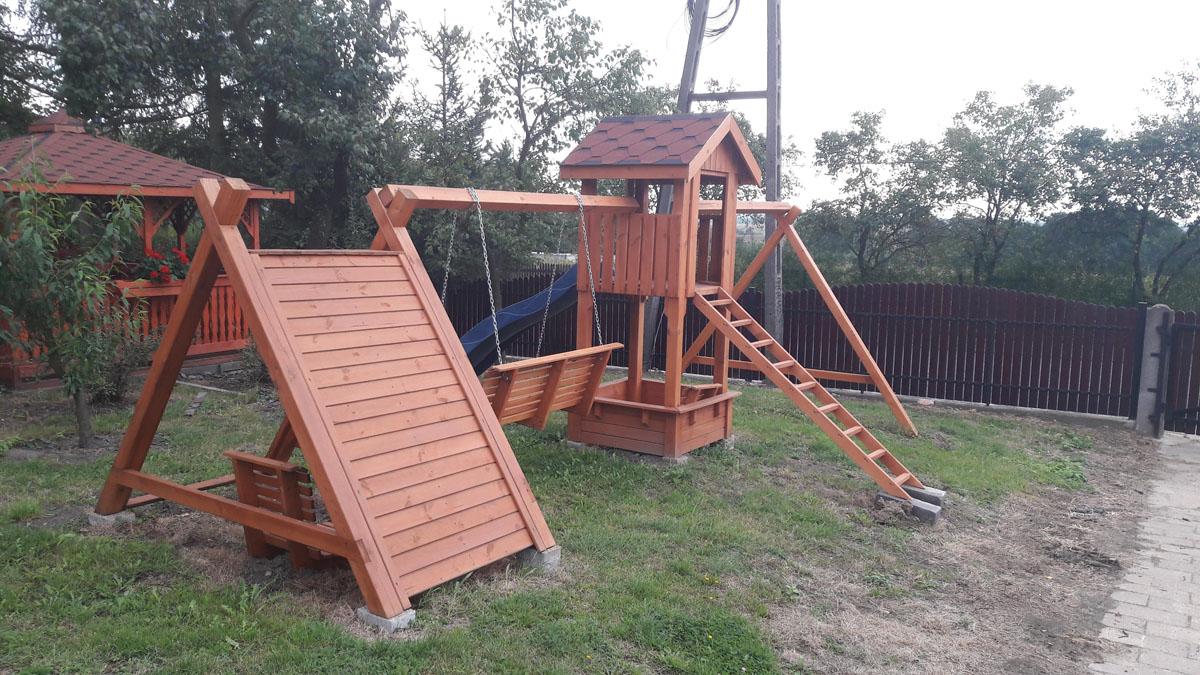 Poważne Plac zabaw drewniany 2 | Kriswood UZ99