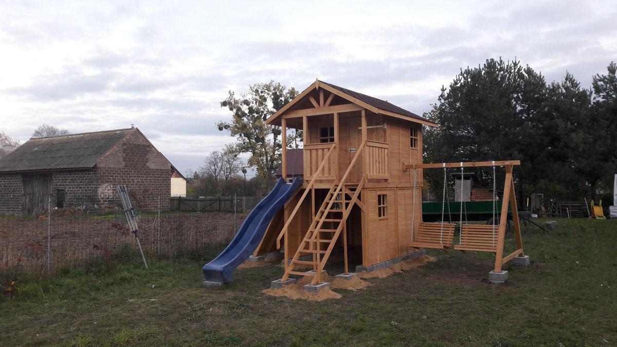 Ogromnie Plac zabaw drewniany 3 | Kriswood EN03