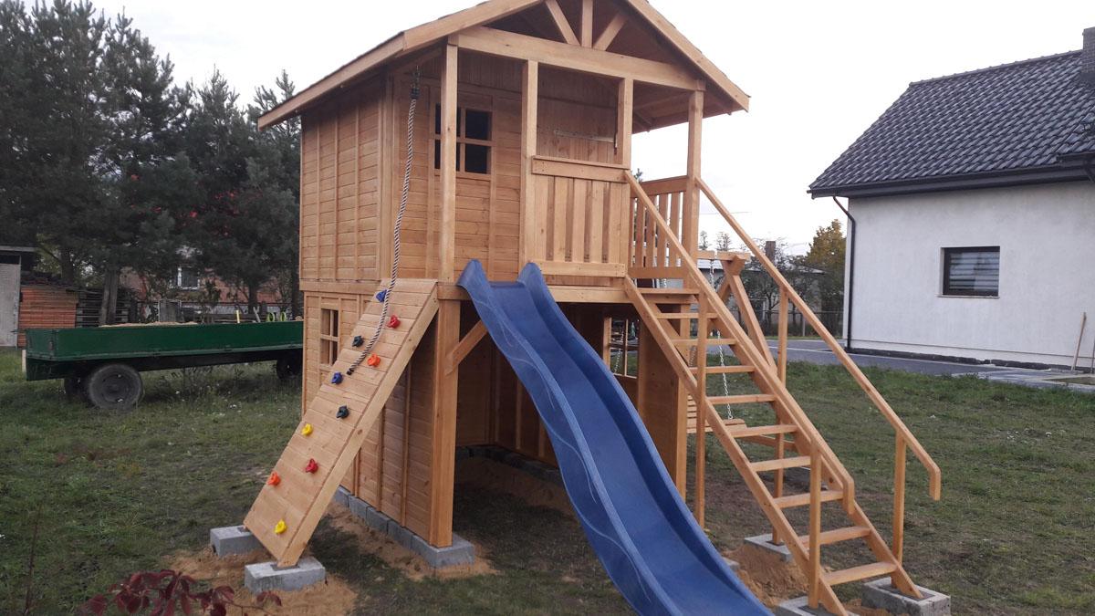 Groovy Plac zabaw drewniany 3 | Kriswood FD86